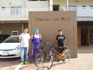 自転車寄贈