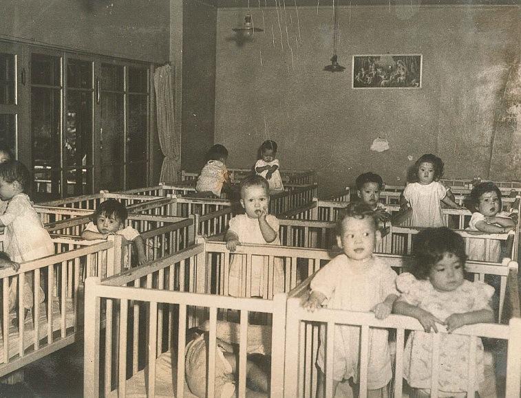 1950年代写真 生活環境写真 児童養護施設 聖母愛児園